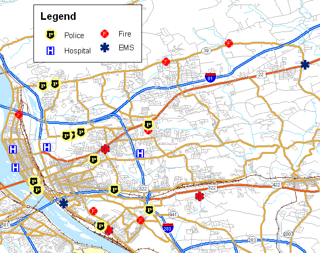 Harrisburg Pa Map Related Keywords Amp Suggestions